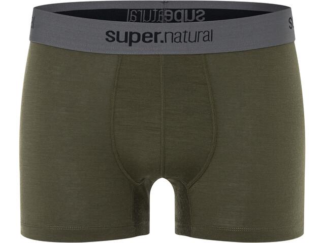 super.natural Base 175 Boxer Medio Hombre, olive night